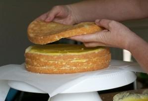 Торт на день рождения мужу - фото шаг 10
