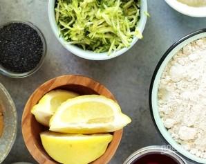 Лимонные кексы с цукини - фото шаг 2
