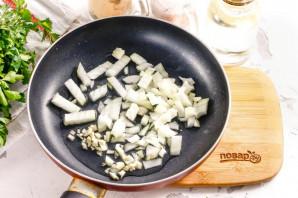 Креветки в сливочно-чесночном соусе - фото шаг 2