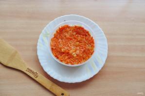 Слоеный салат с бужениной - фото шаг 6