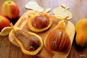 Яблоки и груши в тесте - фото шаг 6