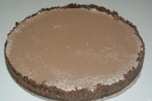 Шоколадный чизкейк без выпечки - фото шаг 12