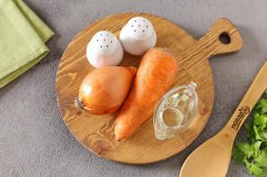 Маринованный лук с морковью быстрого приготовления - фото шаг 1