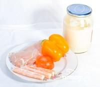 Крабовый салат с болгарским перцем - фото шаг 1