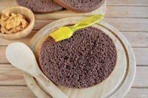 Шоколадный торт с орехами - фото шаг 10
