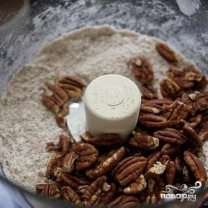 Пирог с корицей и ореховой посыпкой - фото шаг 1