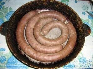 Печеночная колбаса в домашних условиях - фото шаг 3