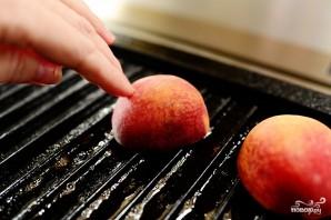 Персики на гриле - фото шаг 5