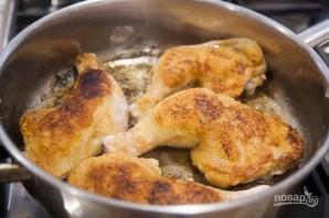 Куриные окорока с соусом - фото шаг 3