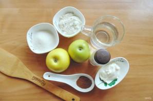 Вареники с яблоком и корицей - фото шаг 1