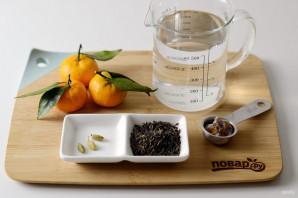 Мандариновый чай - фото шаг 1