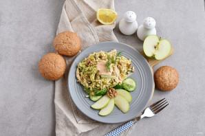 Салат с китайской капустой - фото шаг 5