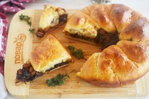 Пирог с говядиной и беконом из Винтерфелла - фото шаг 14