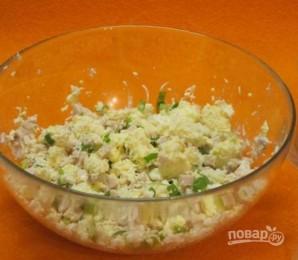 Салат с молоками лососевых рыб - фото шаг 2