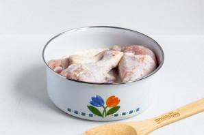 Курица в сливках с картофелем - фото шаг 3
