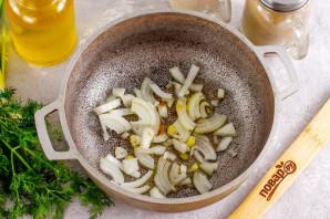 Рагу из чечевицы со шпинатом - фото шаг 2