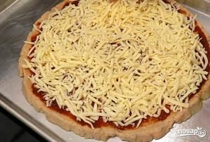 Пицца с мясом - фото шаг 9