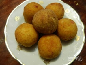 Картофельные шарики с ветчиной и сыром - фото шаг 9