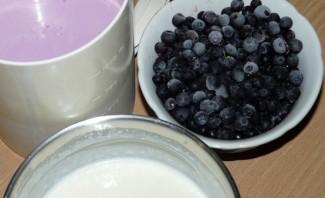 Чернично-йогуртовый торт - фото шаг 2