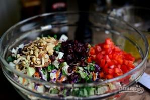 Салат из капусты с орехами - фото шаг 5