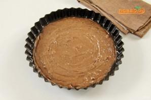 Шоколадный пирог с изюмом - фото шаг 8