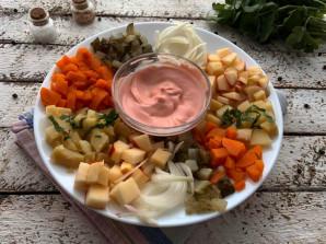 "Салат ""Огород"" на праздничный стол - фото шаг 7"