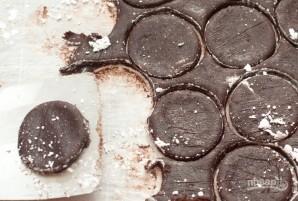 Шоколадное печенье в шоколаде - фото шаг 5