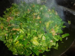 Борани шпинатное  - фото шаг 2