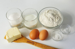 Кексы на сливочном масле - фото шаг 1