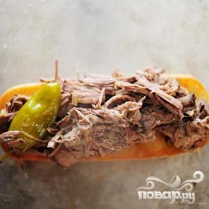 Итальянские горячие бутерброды - фото шаг 21