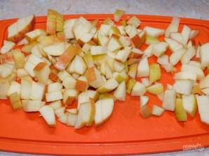 Творожные блины с карамельными яблоками - фото шаг 6