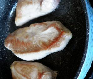 Нежная свинина в сырно-сливочном соусе - фото шаг 2