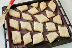 Слоеное печенье на сметане - фото шаг 8