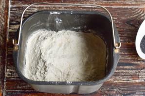 Булочки с маком в хлебопечке