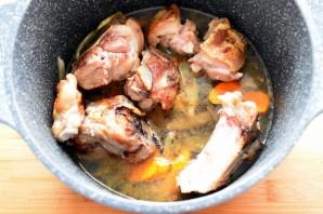 Суп по-крестьянски с белой фасолью - фото шаг 2