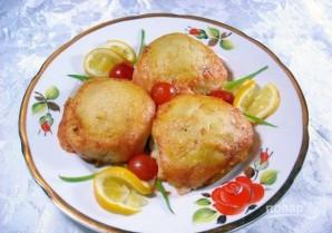 Картофельные шарики с начинкой - фото шаг 9