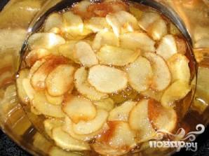 Картофельные чипсы с куриной приправой и тмином - фото шаг 4