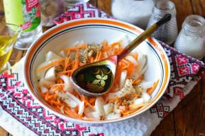 Закуска из лука и моркови - фото шаг 5