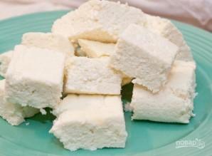 "Сыр ""Панир"" из 2-х ингредиентов - фото шаг 5"