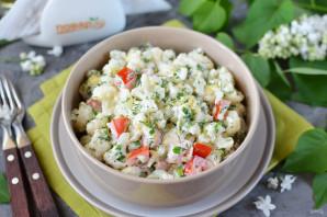 Салат с цветной капустой и сыром