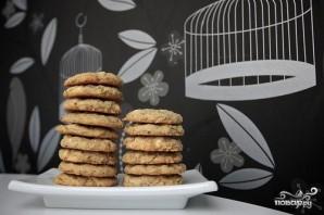 Овсяное печенье с белым шоколадом и миндалем - фото шаг 8