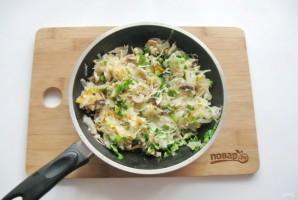 Пирог с квашеной капустой и грибами - фото шаг 11