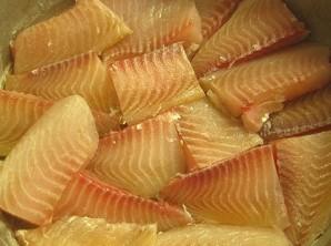 Рыба под майонезом в духовке - фото шаг 1
