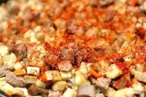 Мясо в армянском лаваше - фото шаг 3