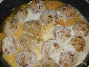 Мясные тефтели с грибами - фото шаг 4
