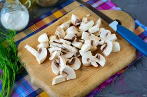 Салат с жареными крабовыми палочками - фото шаг 4