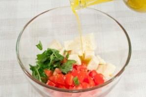 Салат с адыгейским сыром - фото шаг 7