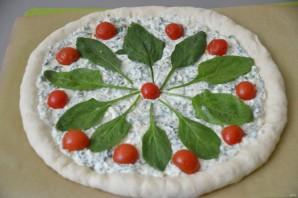 Пицца с зеленью и сыром - фото шаг 16