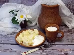 Ленивые творожно-рисовые вареники с сыром - фото шаг 6