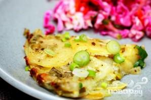 Картофельно-кабачковая запеканка с сыром - фото шаг 3